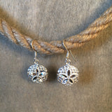 Sanddollar Sterling Earrings