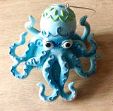 Octopus Whimsy Ornament