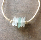 CA Seaglass Anklet