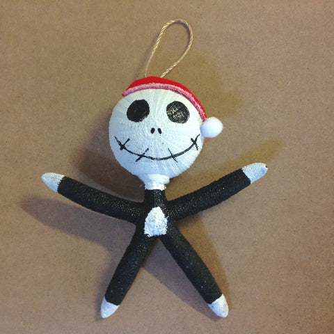 Christmas Jack Starfish Ornament