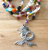 Bohemian Mermaid Beaded Necklaces