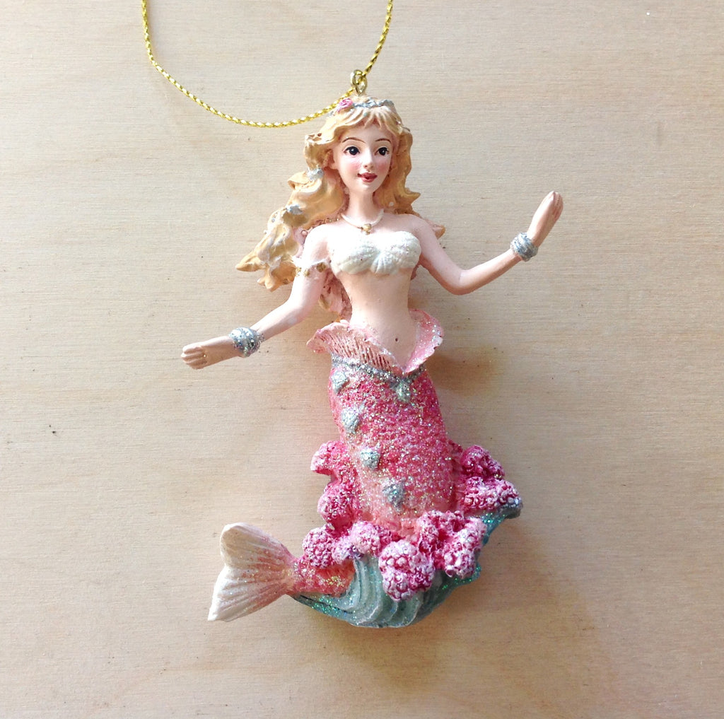 Splash Mermaid Ornament