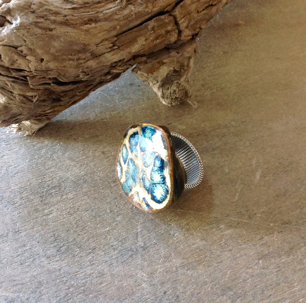 Artisan Ceramic Ring