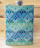 Mermaid Scales Flask