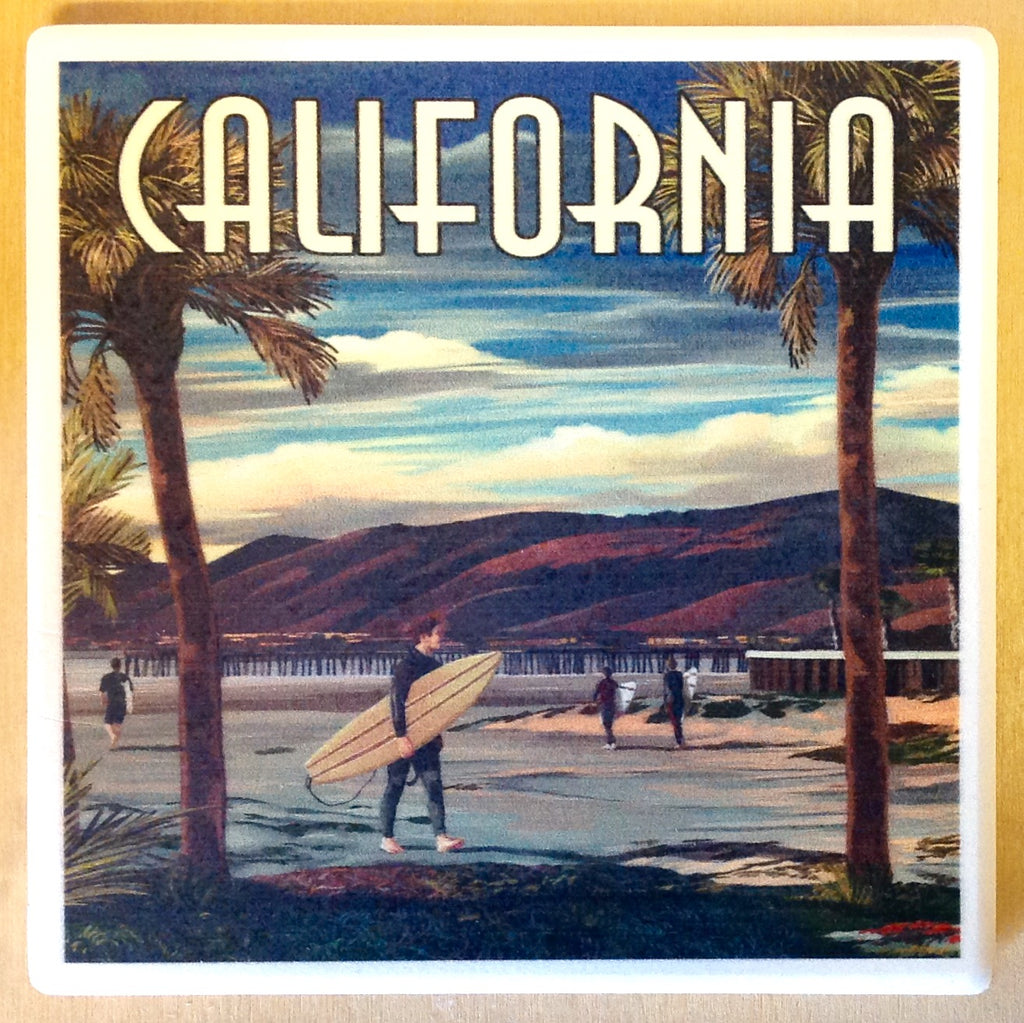 California Surfer & Pier Coaster