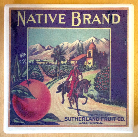 Native Brand Citrus Coaster