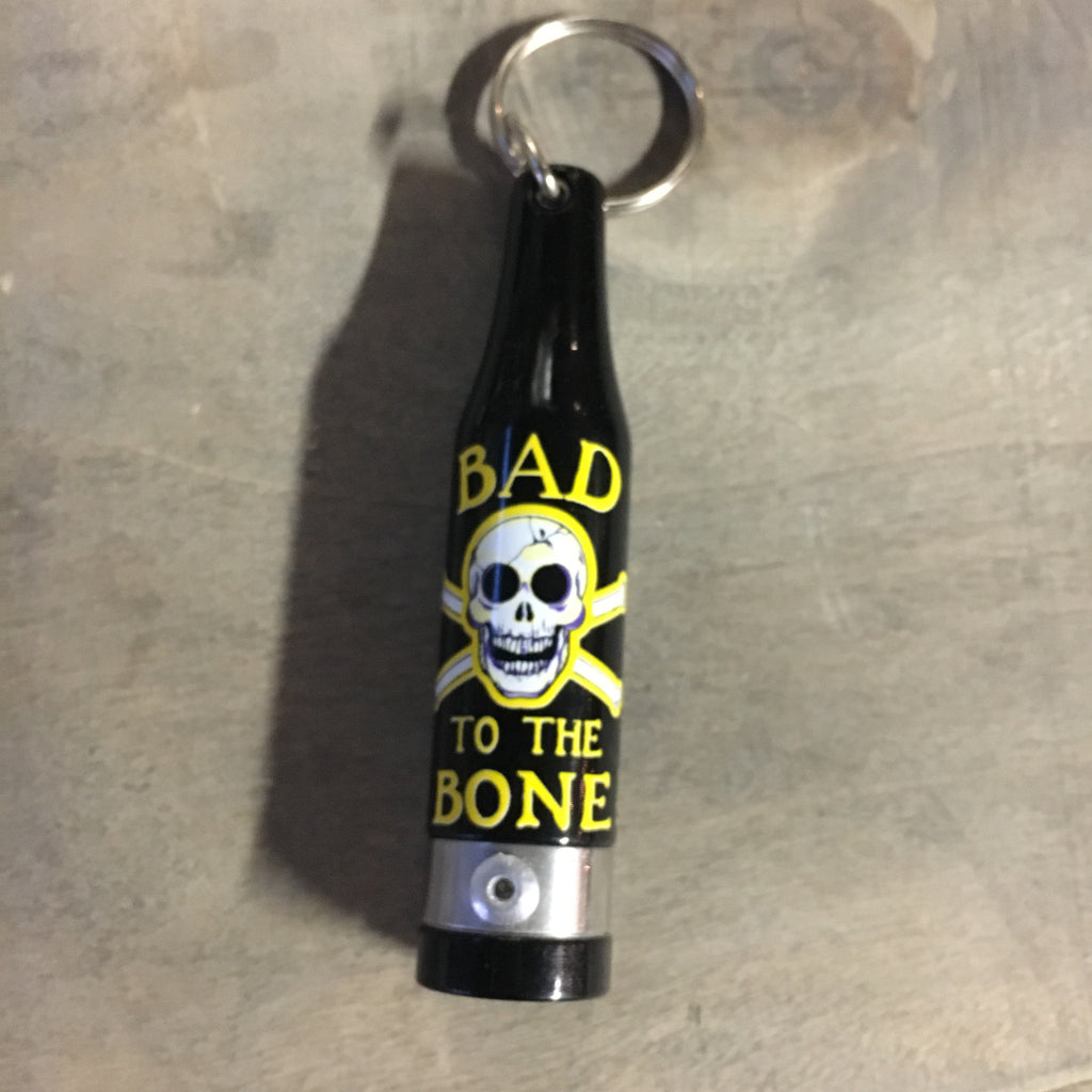 Pirate Bottle Opener Keychain