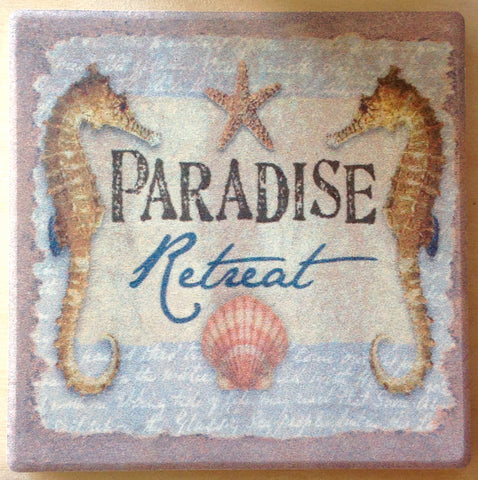 Paradise Retreat Coaster