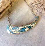 Artisan Ceramic Asymmetrical Necklace