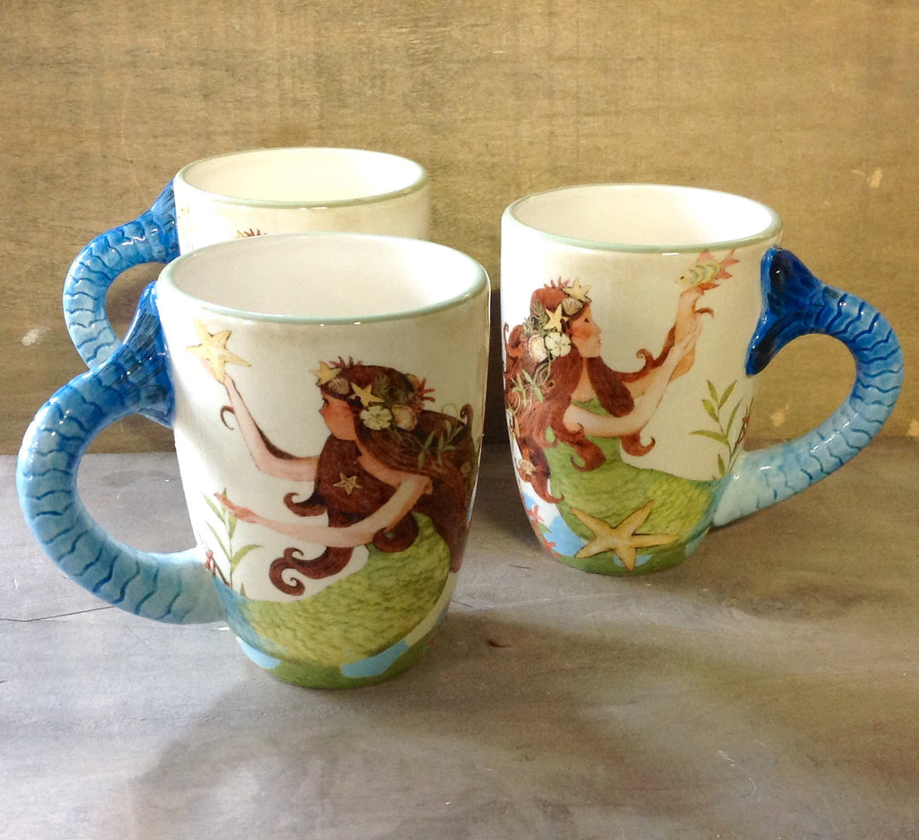Sea Beauty Mermaid Mug