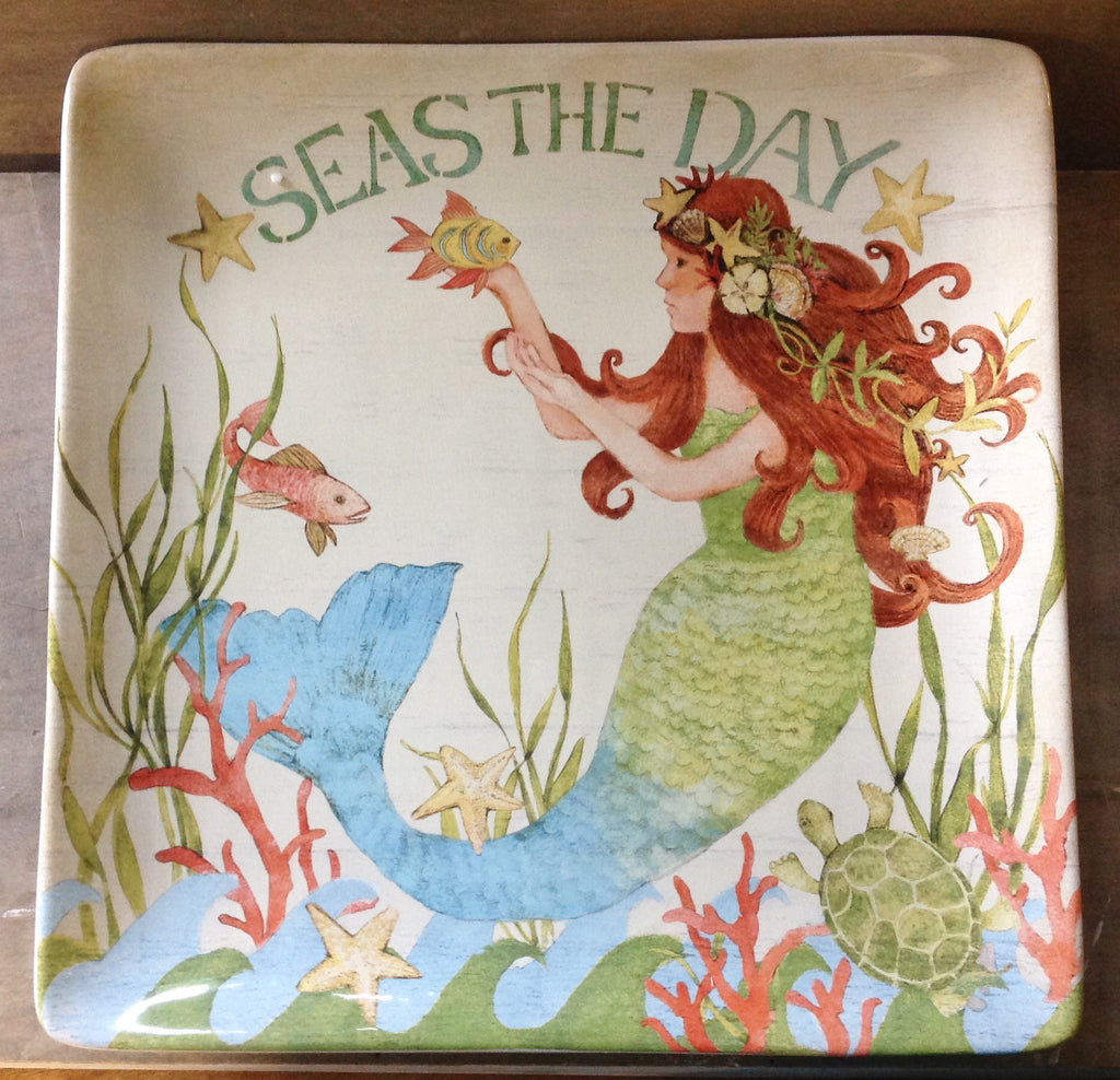 Seas The Day Mermaid Platter