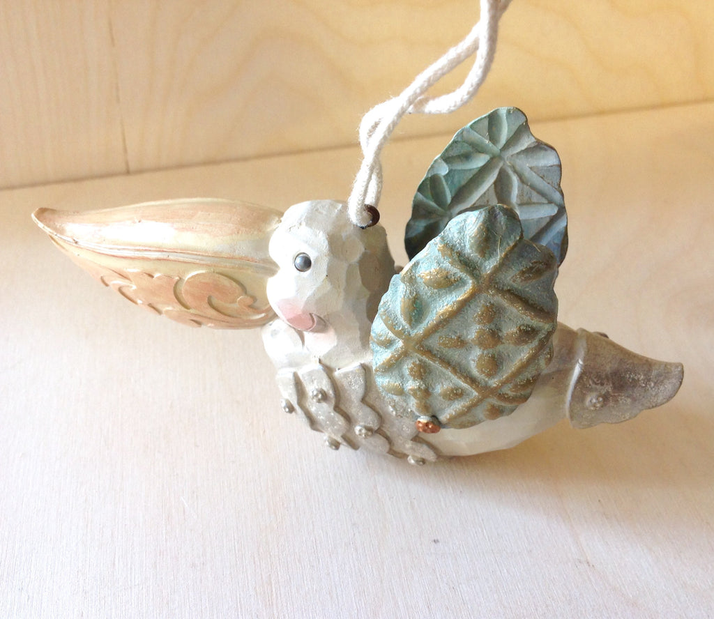 Whimsical Pelican Ornament