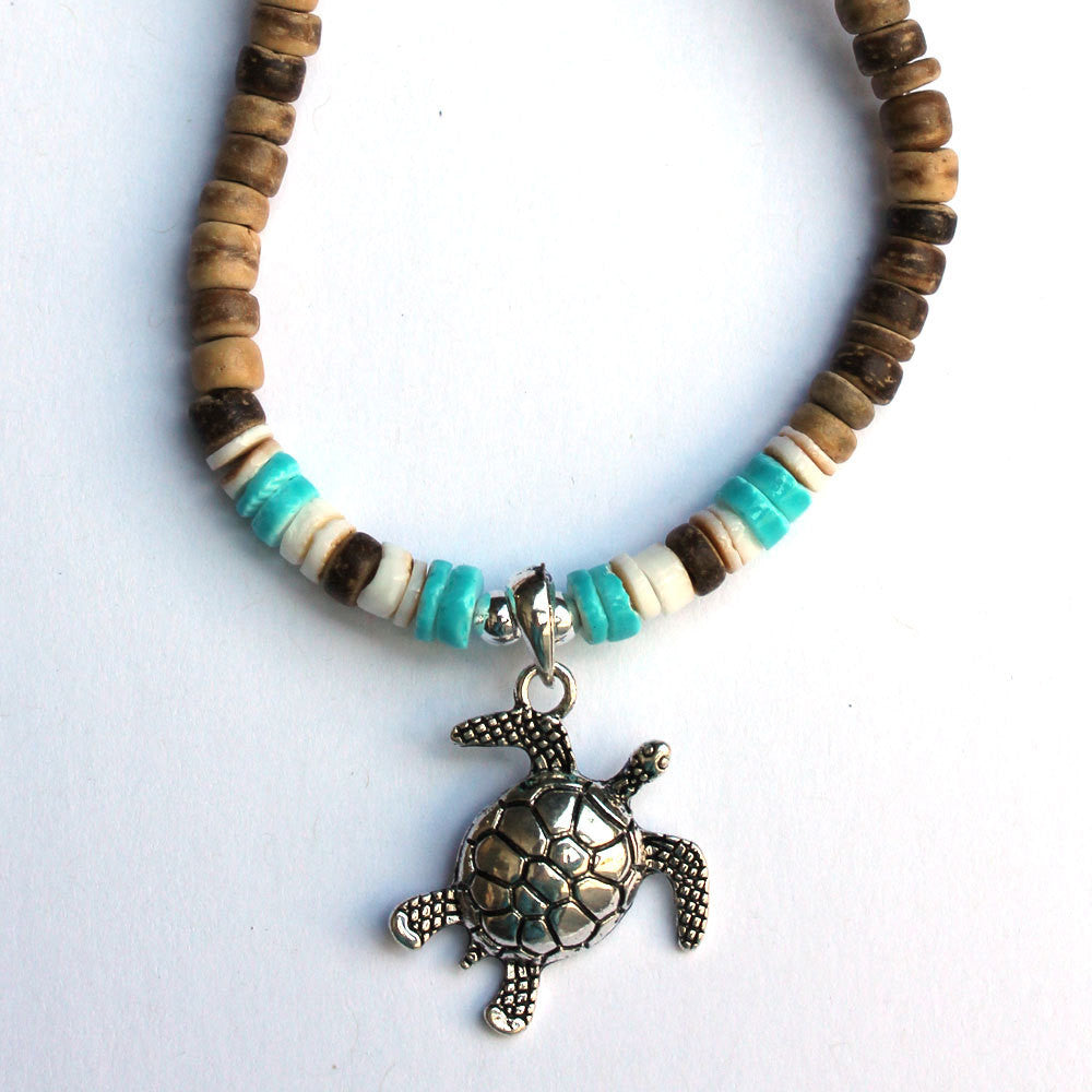 Sea Turtle Bead Necklace