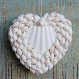 Heart Shell Ornament