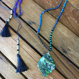 Abalone Tassle Necklace