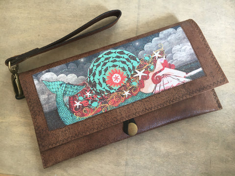 Mermaid Clutch Purse