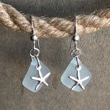 Sea Star Seafoam Earrings