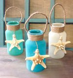 Ocean Sand Jar Lantern Light