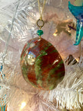 Polished Red Abalone Ornament
