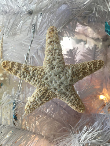 Glittered Starfish Ornament