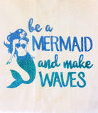 Mermaid Sayings Towel