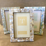 Mother of Pearl Tile Photo Frames