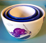 Mermaid Kisses Nesting Bowl