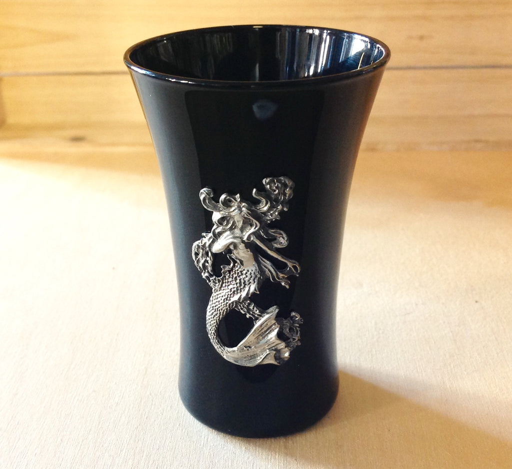 Pewter Mermaid Shot Glass
