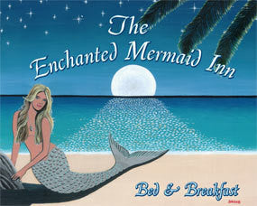 Enchanted Mermaid Inn Tin Sign