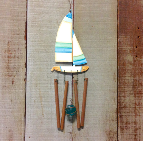 Sailboat Windchime