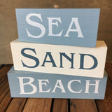 Beach Block Sign
