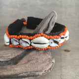 Beaded Cowrie Anklet