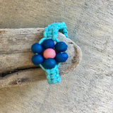 Flower Bead Ring