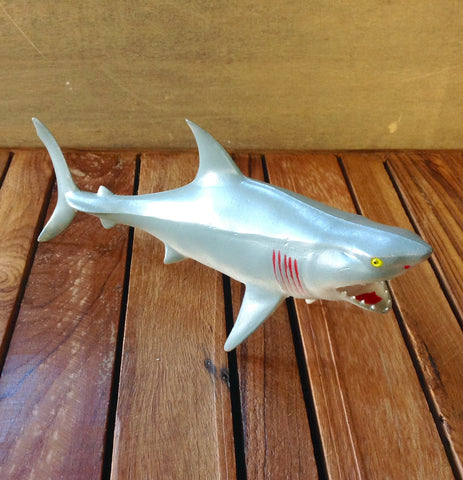 "9.5"" Mako Shark Squeaky Toy"
