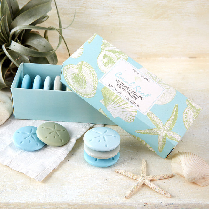 Sand Dollar Guest Soap Set