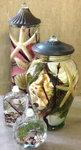 Seashell Oil Candles