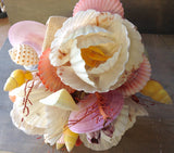 Tropical Seashell Flower Bouquet