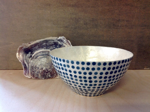 Dotted Capiz Bowl