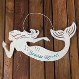 White Mermaid Hanger
