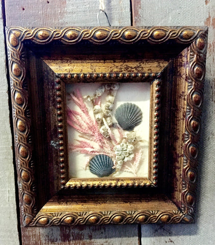 Vintage Sea Shadow Box Frames
