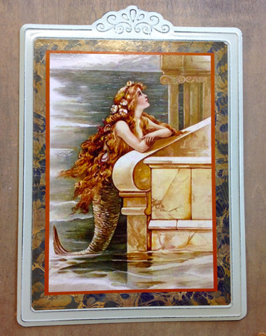 Mermaid by the Edge Sign