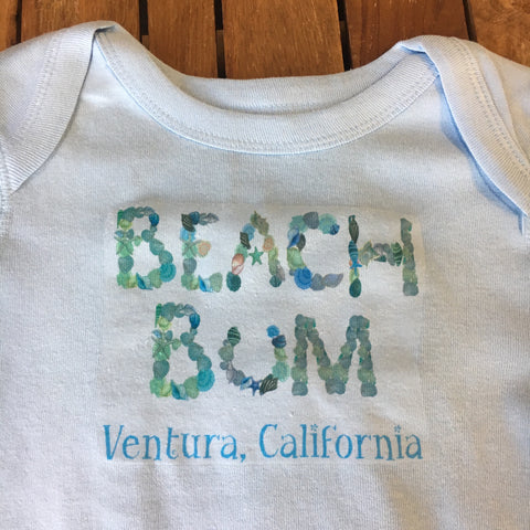 Beach Bum Onesie