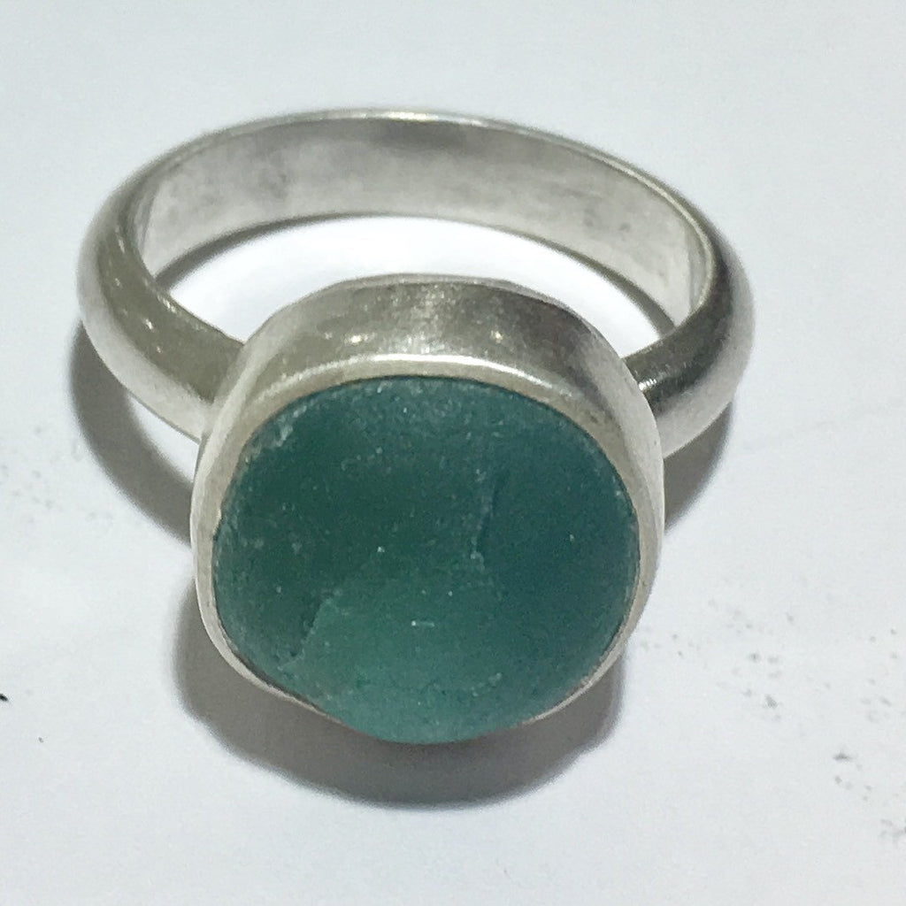 Natural Seaglass Ring