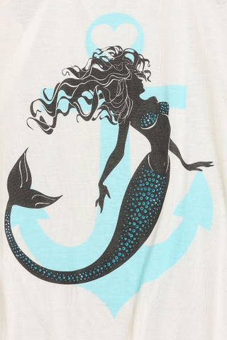 Mermaid Anchor Tank