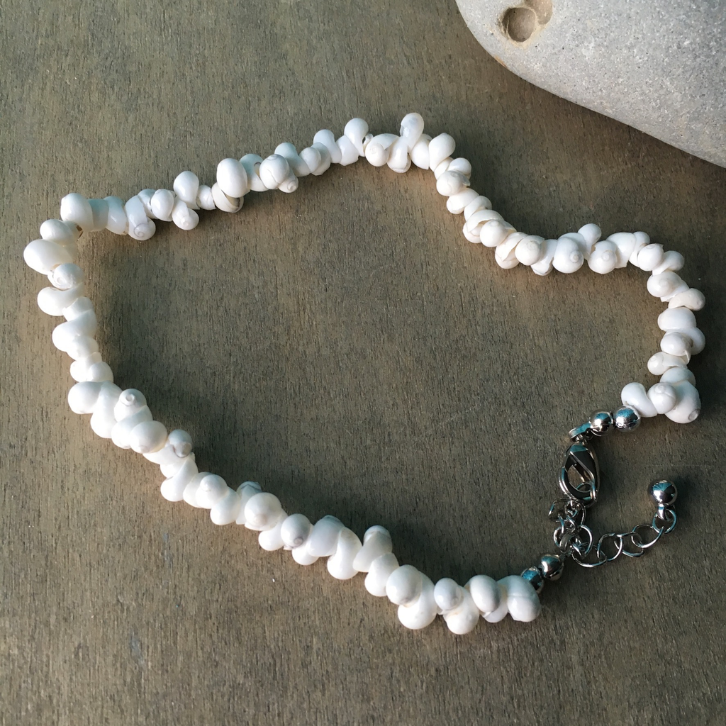 Moon shell Anklet