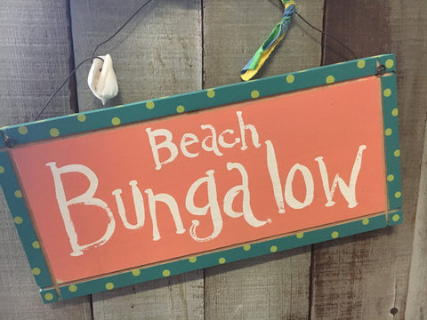 Beach Bungalow Sign