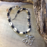 Octopus Cowrie Shell Necklace