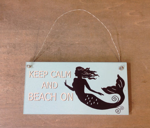 Mermaid Thoughts Sign