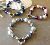 Nautical Pearl Bracelet