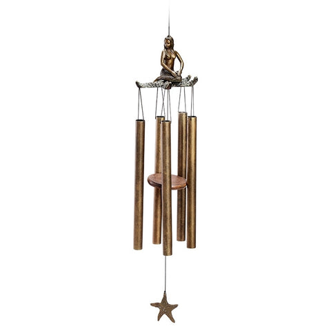 Mermaid & Starfish Windchime